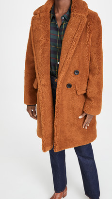 Adrienne Landau Faux Fur Teddy Coat