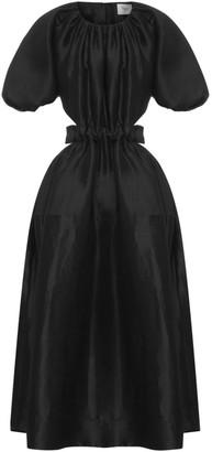 Aje Waist Cutout Midi Dress