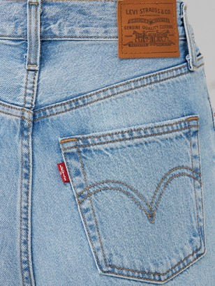 Levi's Ribcage Straight Ankle Jean - Denim