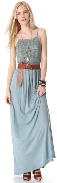 Nightcap Clothing Apron Beach Maxi Dress