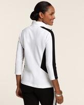 Chico's Side Stripe Jacket