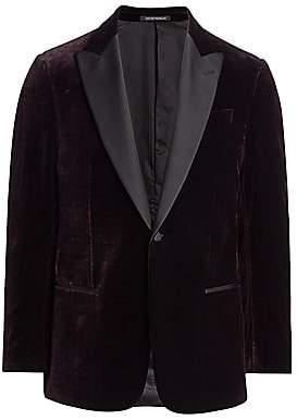 Emporio Armani Men's Velvet Dinner Jacket