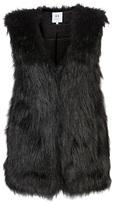 Halston Fur vest