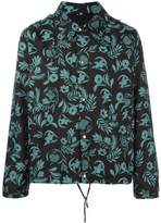 Ami Alexandre Mattiussi plants print hooded jacket
