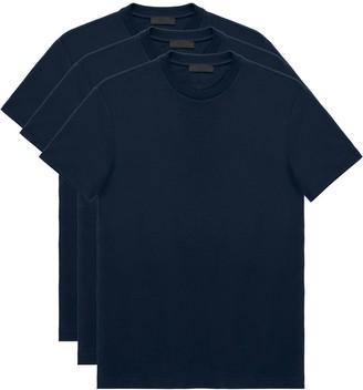 Prada triple pack crew neck T-shirts