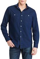 Polo Ralph Lauren Standard Fit Indigo-dyed Chambray Shirt, Indigo