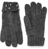 Old Navy Embellished Sweater-Knit Gloves for Women