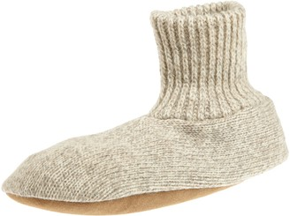 Muk Luks Men's Ragg Wool Slipper Sock