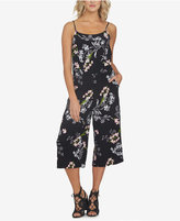 1 STATE 1.STATE Floral-Print Gaucho Jumpsuit