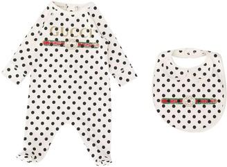 Gucci Polka Dot Newborn Set