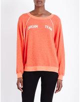Wildfox Couture Dream team fleece sweatshirt