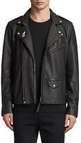 Allsaints Allsaints Colter Leather Biker Jacket, Black