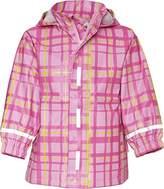 Playshoes Plaid Patterned Waterproof Girl's Rain Coat