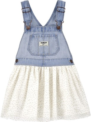 Osh Kosh Toddler Girl OshKosh Bgosh Sparkle Polka Dot Jumper