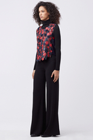 Diane von Furstenberg Scottie Leather Top