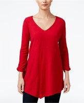 Style&Co. Style & Co. Petite Scarf-Hem Top, Only at Macy's