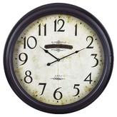 Lazy Susan 24 in. Peterhead Bronze Wall Clock