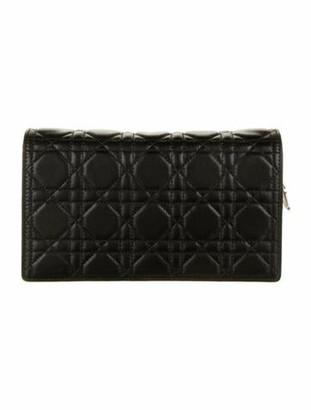 Christian Dior 2019 Lady Pouch Black