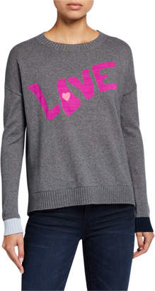 LISA TODD True Love Cotton/Cashmere Sweater