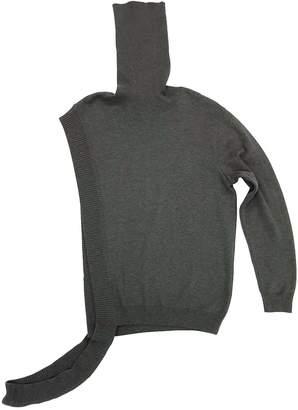 Petja Zorec Grey Asymmetrical Sweater