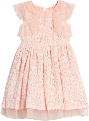 Little Angels Lace Fit & Flare Dress