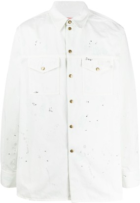 Acne Studios Painted Overshirt