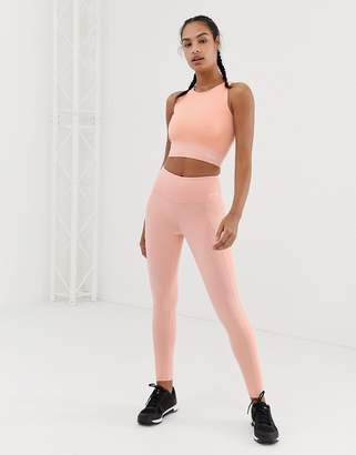 USA Pro bonded panel leggings-Pink