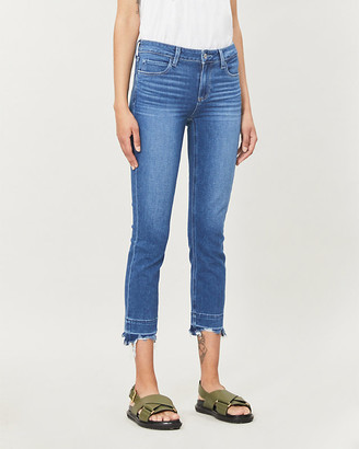 Paige Skyline cropped skinny high-rise jeans