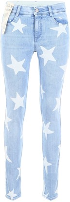 Stella McCartney All Over Star Print Jeans