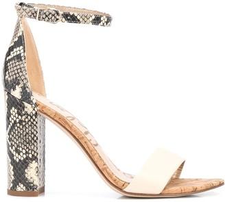 Sam Edelman Yaro 80mm block heel sandals