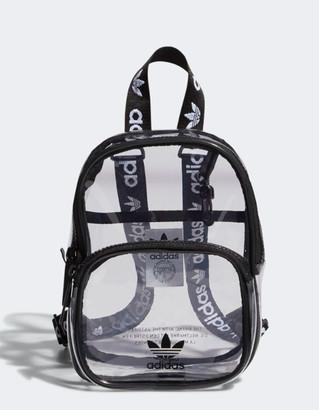 adidas Clear Black Mini Backpack