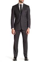 Ike Behar Notch Collar Wool Suit