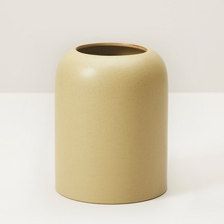 Indigo Domed Small Vase Citron
