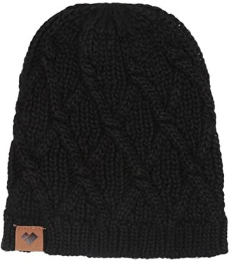 Obermeyer Billings Classic Knit Beanie (Black) Beanies