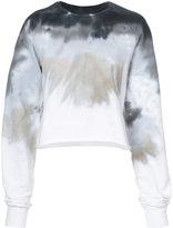 Baja East gradient design sweatshirt