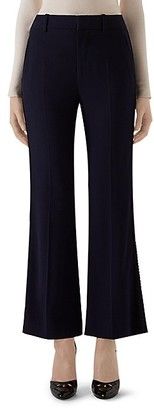 Gucci Stretch Cady Cropped Flare Pants