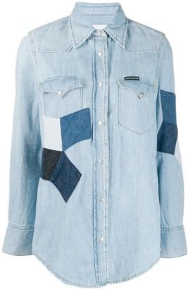 Calvin Klein Jeans Foundation Western denim shirt