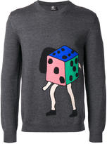 Paul Smith dice motif jumper - men - Merino - S