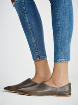 Free People Lexie Leather Flat