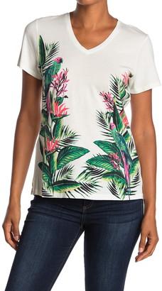 Tommy Bahama Paradiso Parrots V-Neck T-Shirt