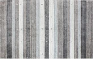 One Kings Lane Rien Stripe Rug - Gray