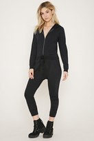 Forever 21 Hooded Harem Jumpsuit