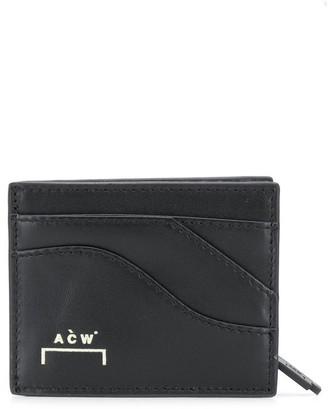 A-Cold-Wall* Logo Zipped Wallet