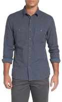 Nordstrom Men's Slim Fit Micro Check Sport Shirt
