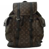 Louis Vuitton Brown Synthetic Backpack