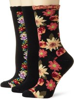 Ozone Women's Magic Crew 3 Pack Sock