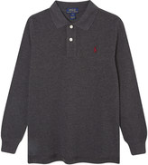 Ralph Lauren Long-sleeved cotton polo 5-7 years