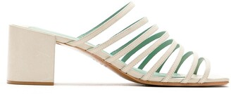 Blue Bird Shoes Strappy Mules