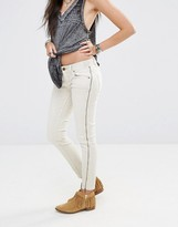 Free People Levon Jeans With Zip Trim