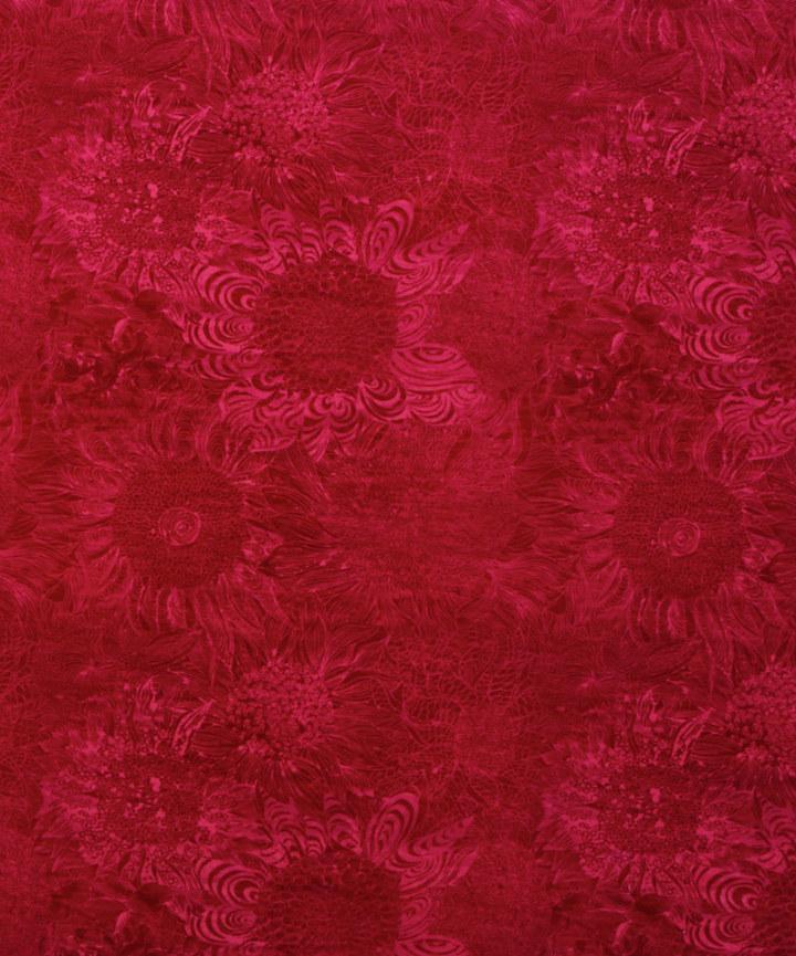Liberty Furnishing Fabrics Fuchsia Rose May Cotton Velvet